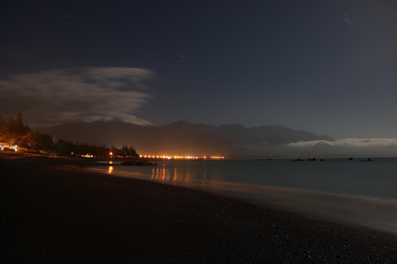 KAIKOURA BY NIGHT, KAIKOURA, NEW ZEALAND